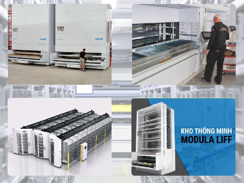 Kho lưu trữ tự động Modula Lift mang lại hiệu suất cao