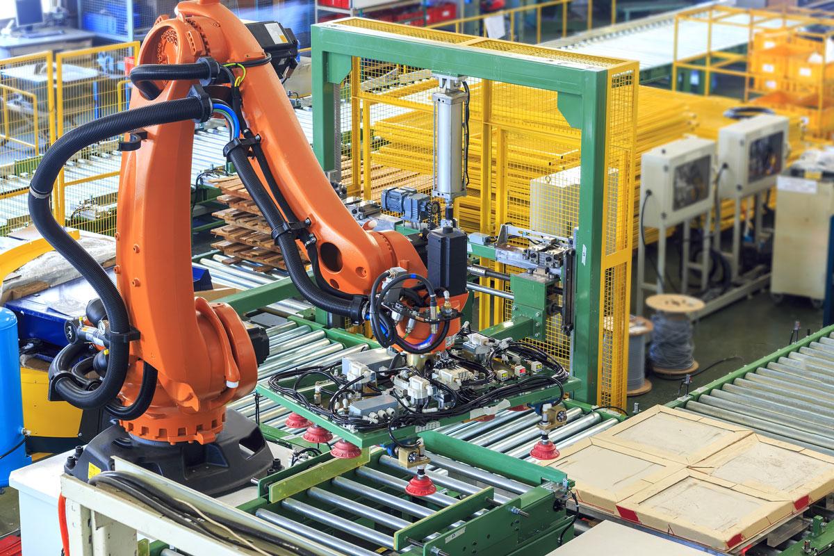Tự động hóa giúp nâng cao hiệu quả sản xuất